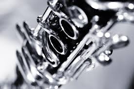 Close-up of a clarinet
