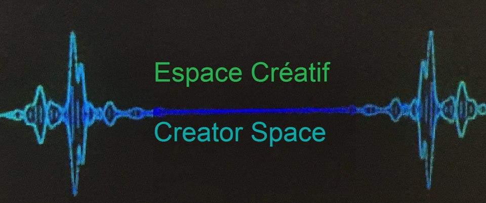 Espace créatif / Creator Space logo