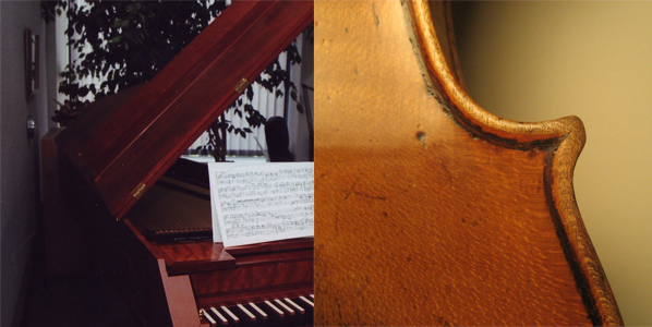Fortepiano and Landolfi violin