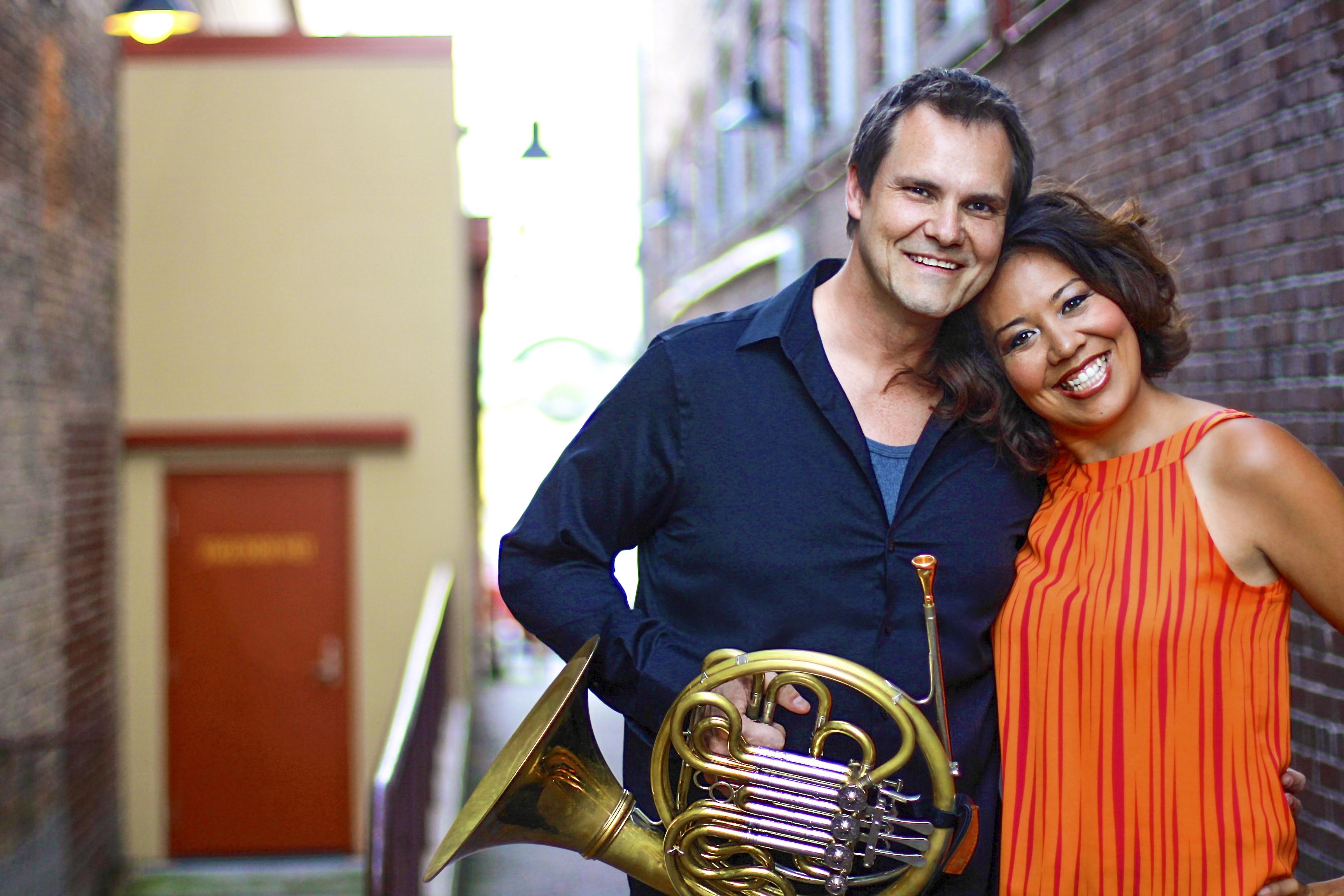 Photo of Jeff Nelsen and Nina Yoshida Nelsen