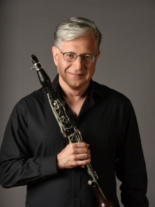 Kimball Sykes photo with clarinet