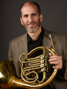Lawrence Vine photo with horn