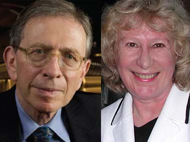Composite photo of Jerome Lowenthal and Ursula Oppens