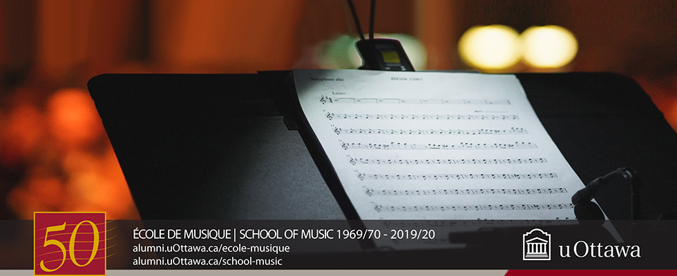 School of Music - 1969/70 - 2019/20
