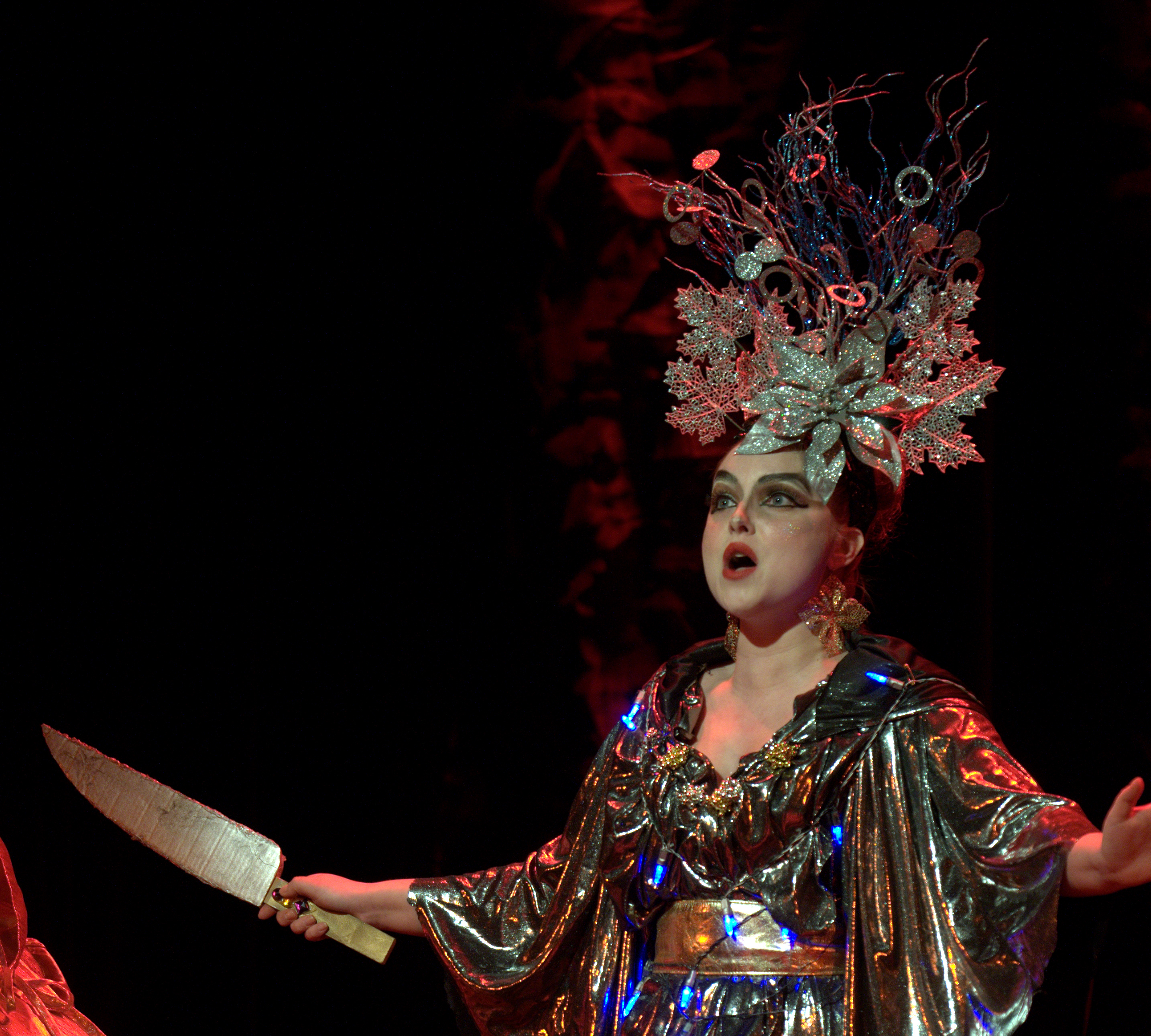 Queen of the Night in Mozart's The Magic Flute