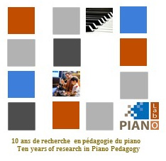 Piano Lab 10th Anniversary logo
