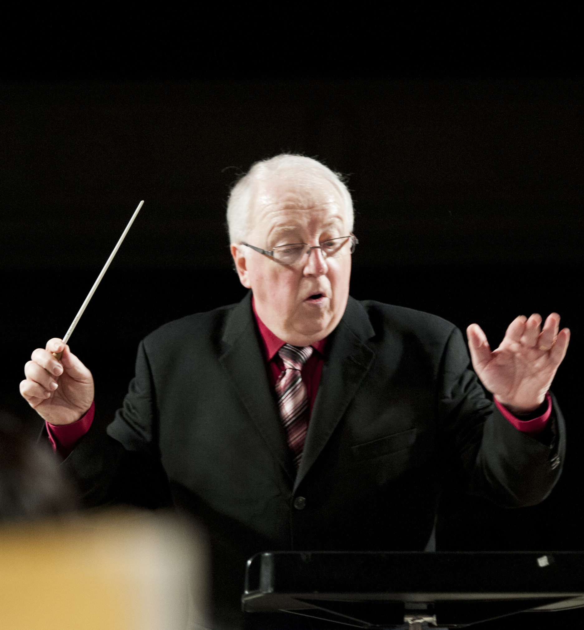 Daniel Gress photo, conducting