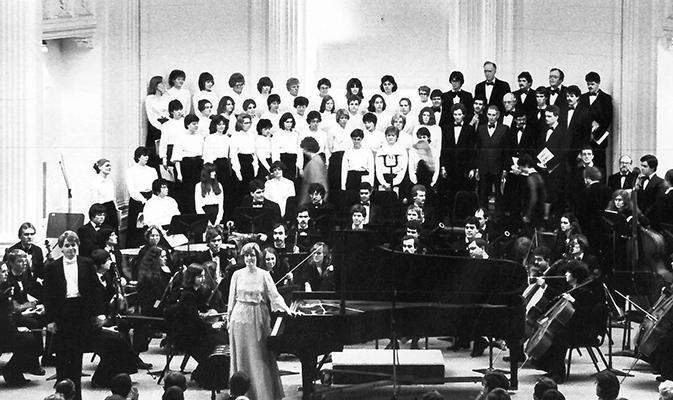 Beethoven Choral Fantasy 1983