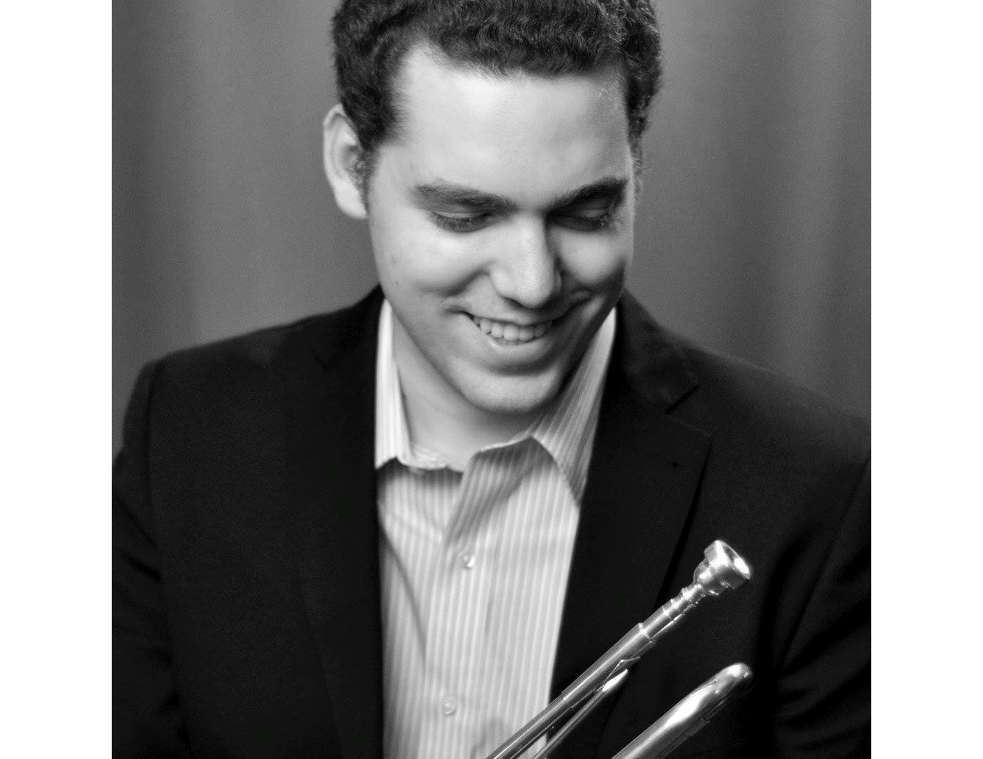 Davide Da Silva photo with trumpet