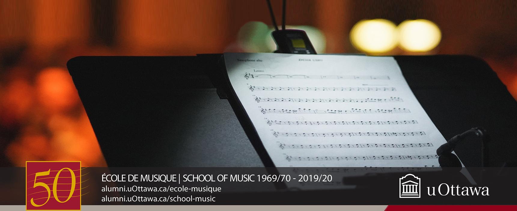 École de musique - 1969/70 - 2019/20