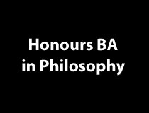 Program Honours BA - Philosophy