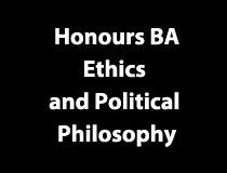 Program Honours BA - Ethics and Political Philosophy