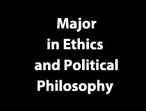 Program Major - Ethics and Political Philosophy