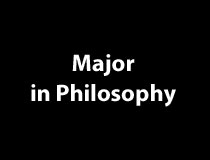Program Major - Philosophy