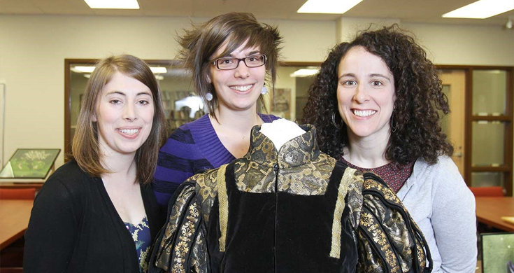 Students curate Shakespeare exhibit