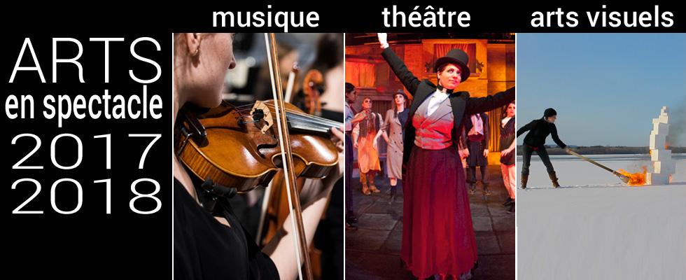 ARTS EN SPECTACLE - Musique, Théâtre, Arts visuels - Complete 2017-2018 season