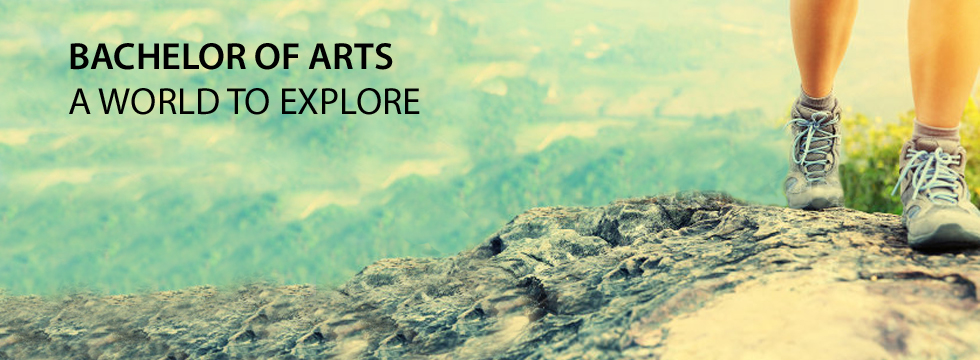 Bachelor of Arts - A world to explore