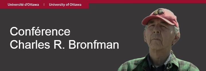 Bannière Charles Coocoo Conférence Bronfman