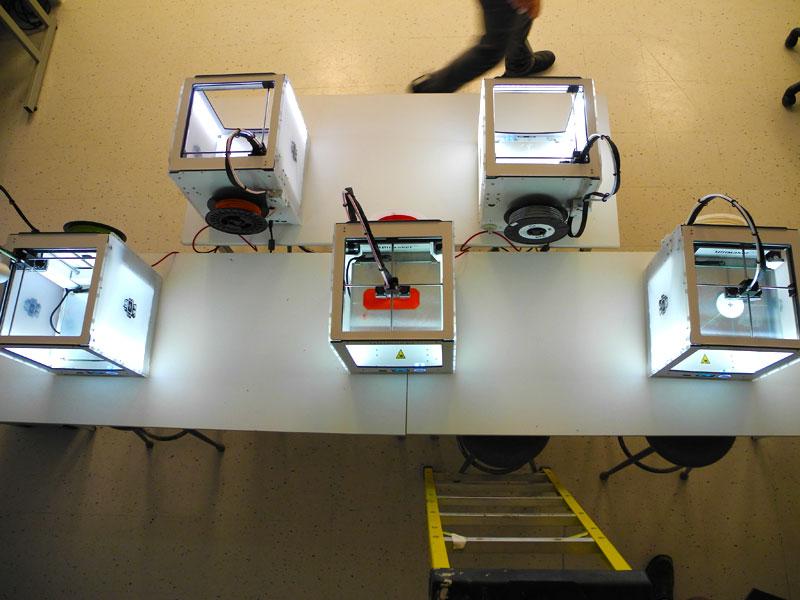 coFab - Arts Makerspace - 3d Printers