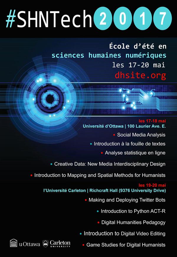 SHNTech - École d'été en sciences humaines numériques