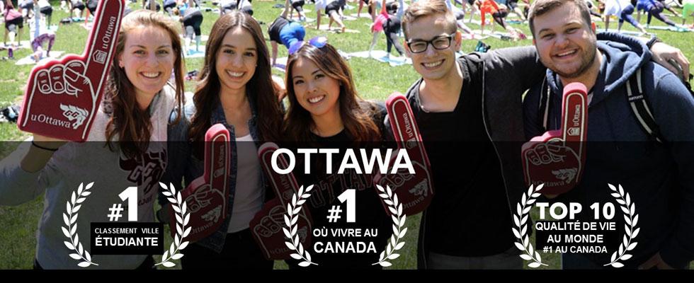 Le saviez-vous? Étudier à Ottawa, c'est extraordinaire !