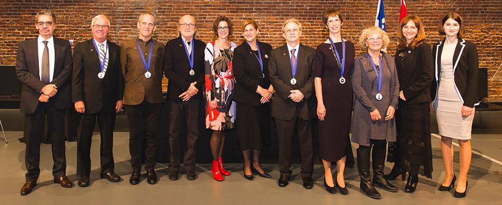 Professor France Martineau was awarded the Ordre des francophones d'Amérique