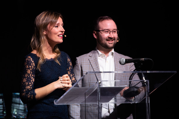Soirée A+ - Genevieve TURCOT and Ryan KENEDY-MC