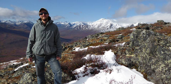 Jesse Cooke - Alumnus blazing own Yukon Trail