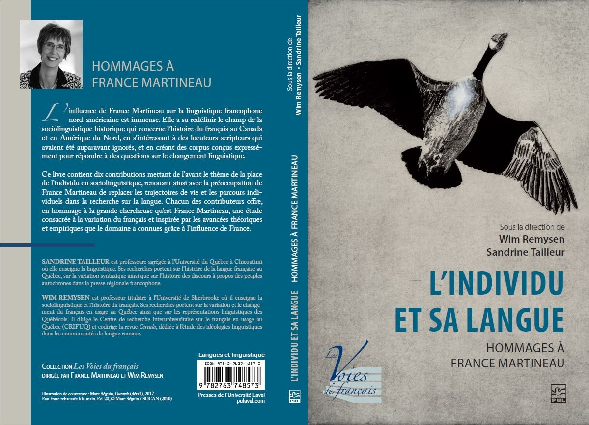 Cover of book Hommages à France Martineau