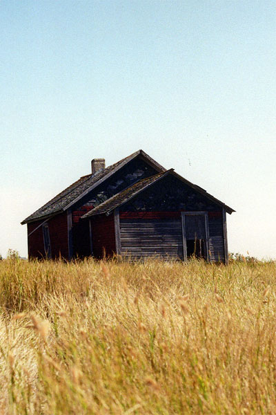 Maegan E. Beck - July in the Prairies (series), Prairie Gothic, 2016