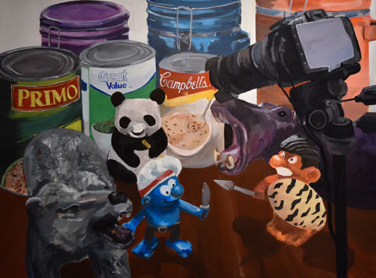 Melissa Ng Cheong Wong - Animate me in a fused space, 2016