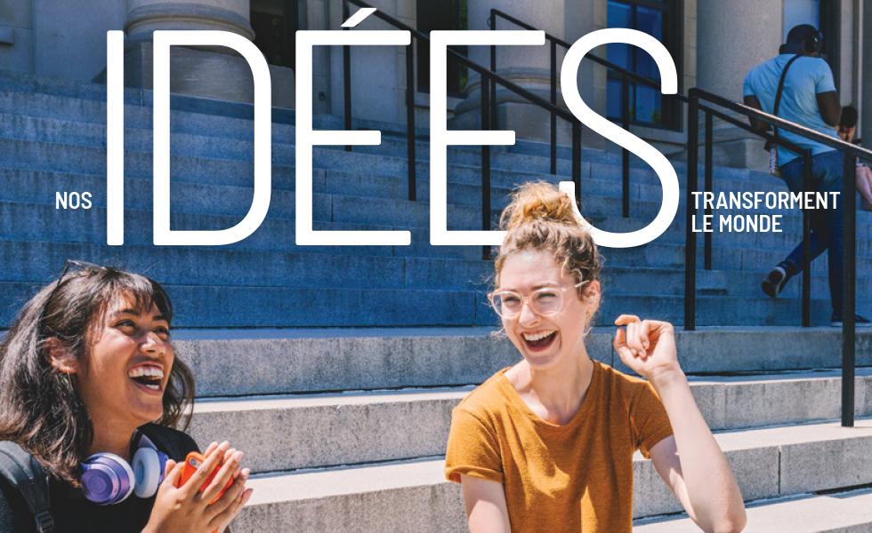 Faculté des arts - Nos idées transforment le monde