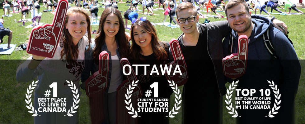 Students rank Ottawa world's top city
