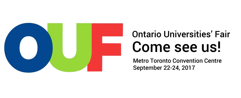 We will be at OUF 2017 in Toronto!