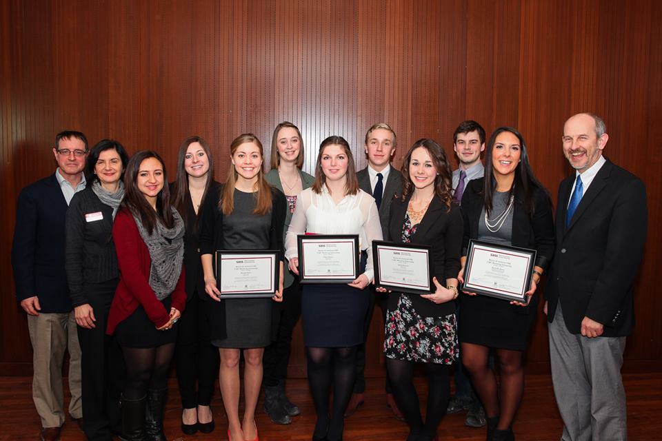 2013-2014 CIBC Mentorship Program Scholarships recipients