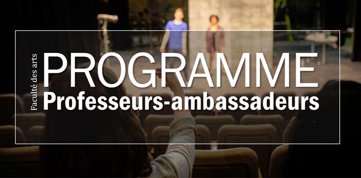Programme professeurs-ambassadeurs