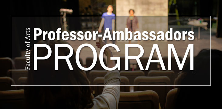 Professor-Ambassadors Program