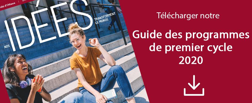 Faculté des arts - Guide des programmes 2020