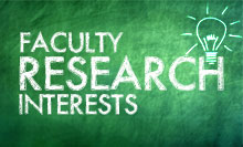 Research Interests