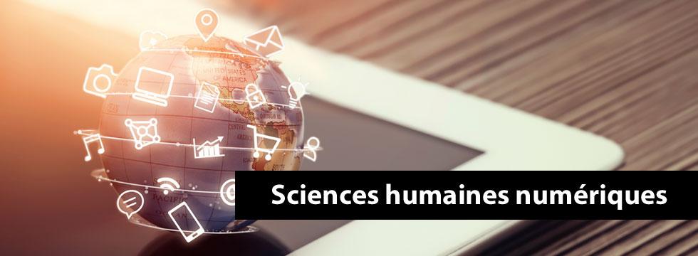 Sciences humaines numériques