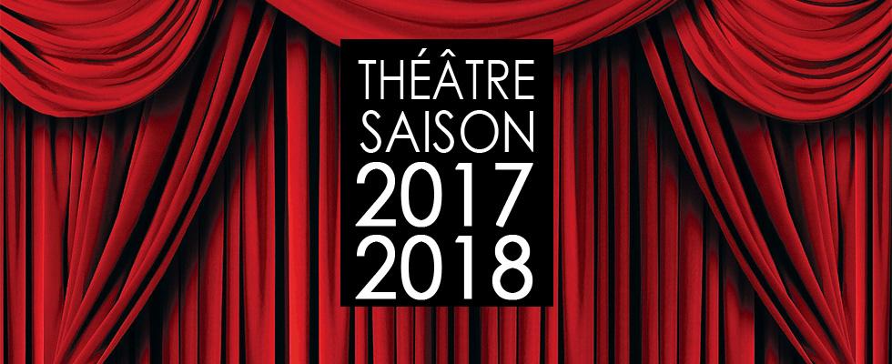 Saison théâtrale 2017-2018