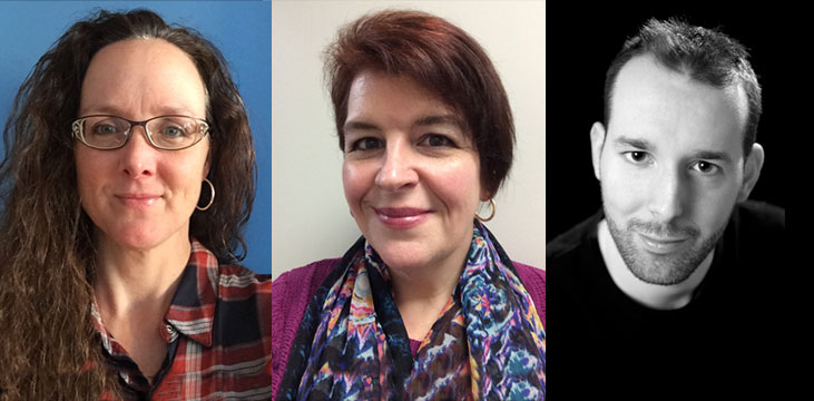 Alumni/Diplômés: Andrée Sirois, Gillian F. Wood, Hugues Beaudoin-Dumouchel